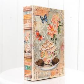 Book Prop Vintage Floral Tea Cup