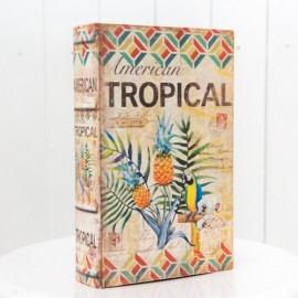 Vintage Book Prop Tropical Nature