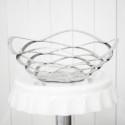 Rent: Decorative Metal Fruit Bowl