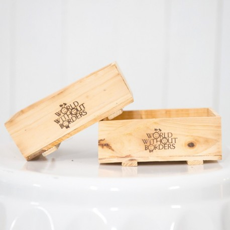 Mini Wooden Crates for Weddings and Parties