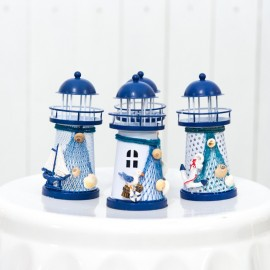 Nautical Lighthouses (Set of 4)