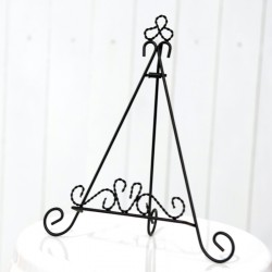 Black Metal Easel Display Stand
