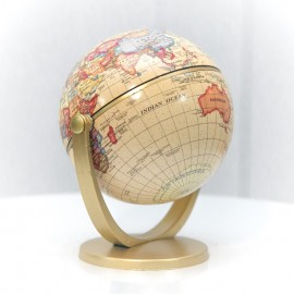 Golden Desktop Globe