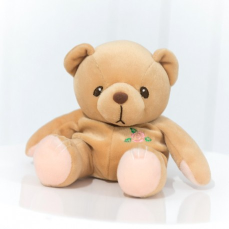 Rosie The Soft Toy Bear With A Rose