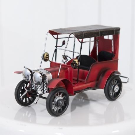 Red Vintage Car Prop
