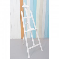 Rent: Large Wooden Easel (White)
