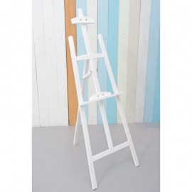 Large White Wooden Easel