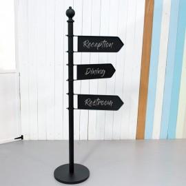 Blackboard Signage Post