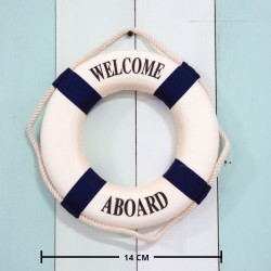 Rent: Small Nautical Life Saver / Buoy / Float (blue)