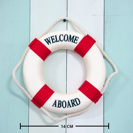 Small Nautical Life Saver / Buoy / Float (red)
