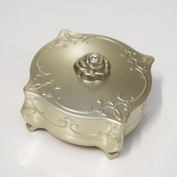 Embossed Golden Accessories Box