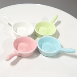 Pastel Colour Mini Dishes (set of 4)