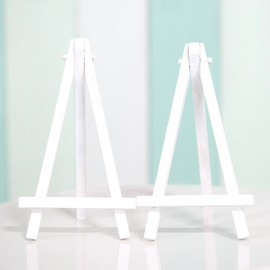 Mini White Wooden Easel Polaroid