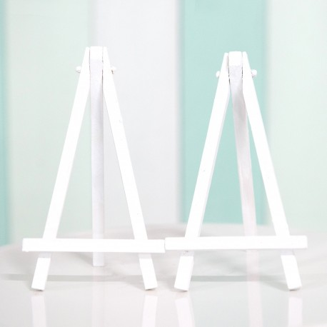 Mini White Easels (2 pieces)