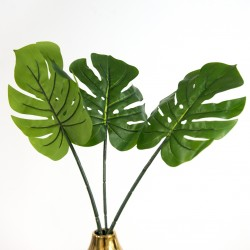 Rent: Artificial Monstera Leaves (set of 3)