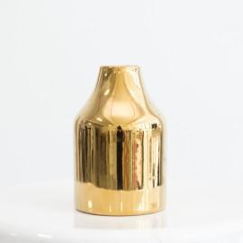 Golden Bottle Vase