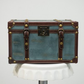 Blue Vintage Treasure Chest