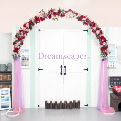 Rent: Wedding Rose Arch (incl. delivery + setup)