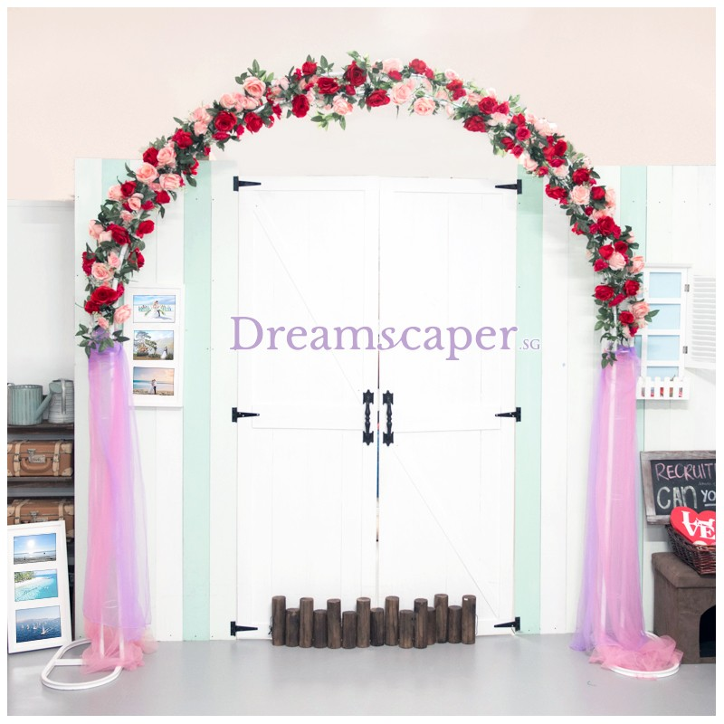 Rent Wedding Rose Arch Incl Delivery Setup Dreamscaper