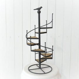 Vintage Stairwell Cupcake Stand