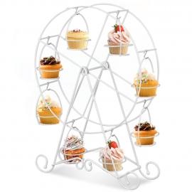 White Ferris Wheel Cupcake Holder