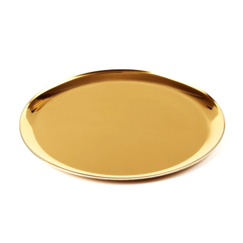 Rent Large Nordic Gold Plate DREAMSCAPER Home Party