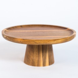 Simple Elegant Wooden Cake Stand