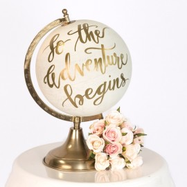 Travel Theme Wedding Globe