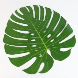 Big Artificial Green Leaf