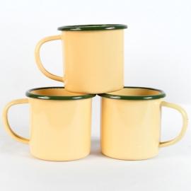 Old School Enamel Cups (set of 3)