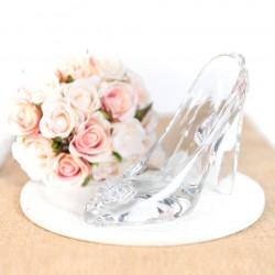 Cinderella Glass Shoe