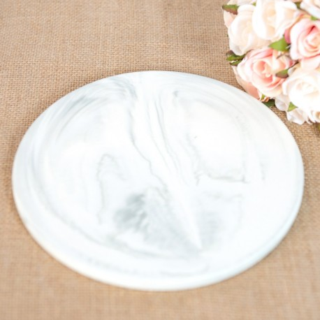 Round Marble Plate