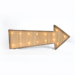 Rent: Arrow Sign Marquee Light