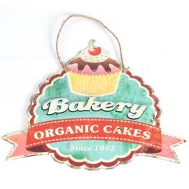 Cupcakes Vintage Metal Sign