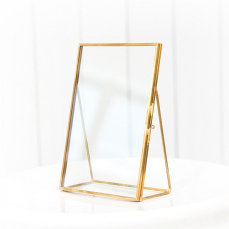 Nordic Gold Glass Frame