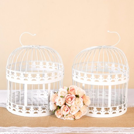 Wedding White Bird Cage