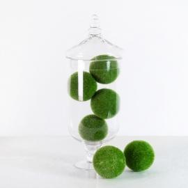Rent: Decorative Green Moss Balls (set of 6)
