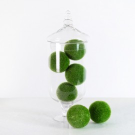 Artificial Green Moss Balls