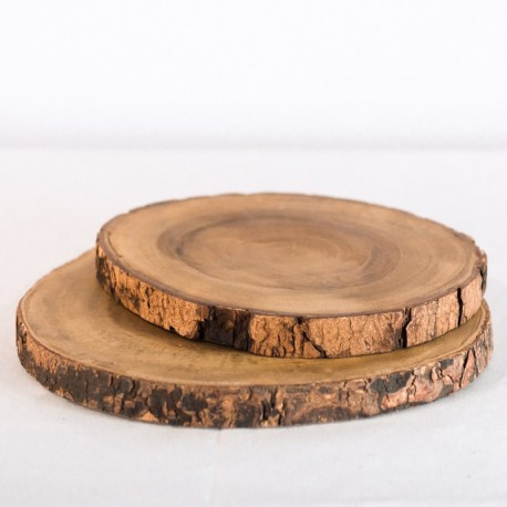 Large Wood Slices (set of 2)