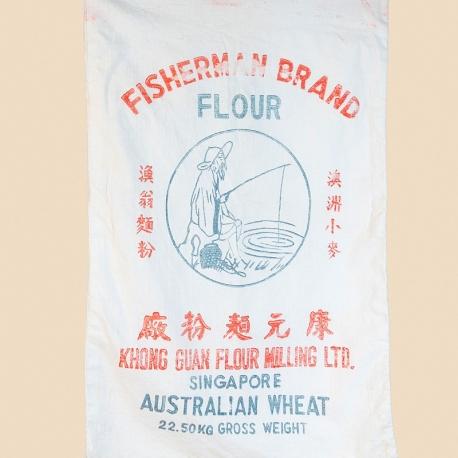 Vintage Singapore Gunny Sack