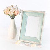 Rent: Turquoise Wooden Photo Frame