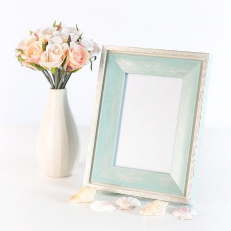 Turquoise photo frame