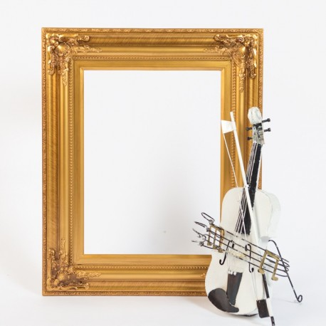 Gold Photo Frame Prop