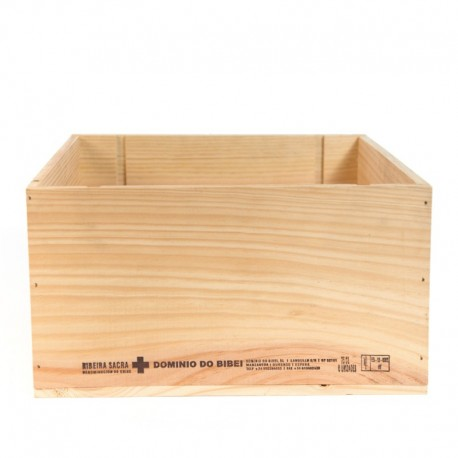 Used Wooden Wine Crate