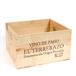 Wooden Wine Crate Box