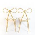 Rent: Wedding Solemnisation Ribbon Gold Chair