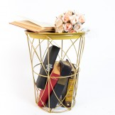 Rent: Nordic Gold Side Table Tray
