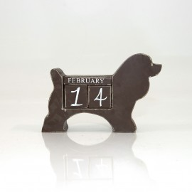 Wooden Date Blocks (Dog)