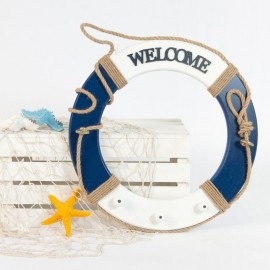 Rent: Rustic Nautical Float/Life Saver (Blue)