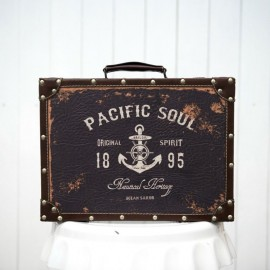 Retro Dark Colour Suitcase